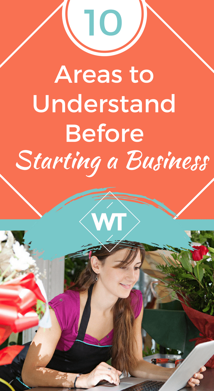 10 Areas to Understand Before Starting a Business