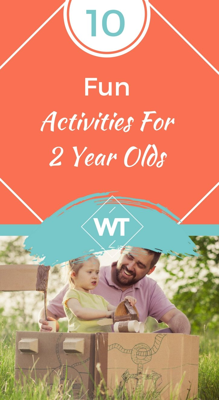 10 Fun Activities For 2 Year Olds