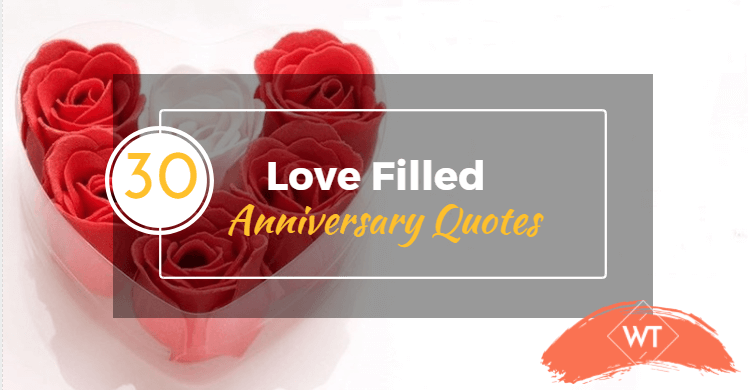30 Love-Filled Anniversary Quotes