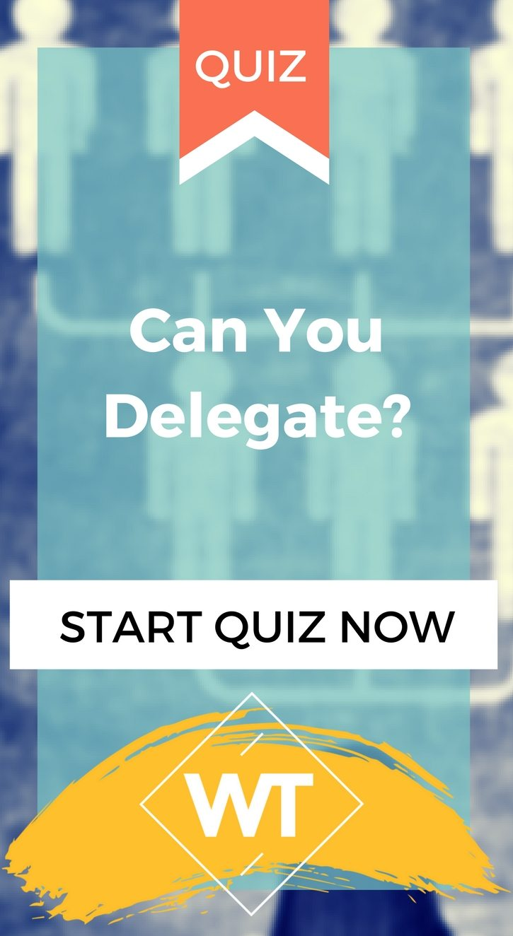 Can You Delegate?