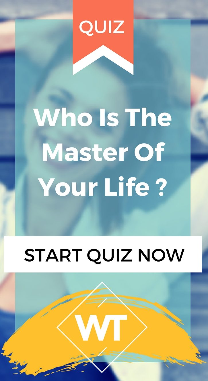 Who Is The Master Of Your Life ?
