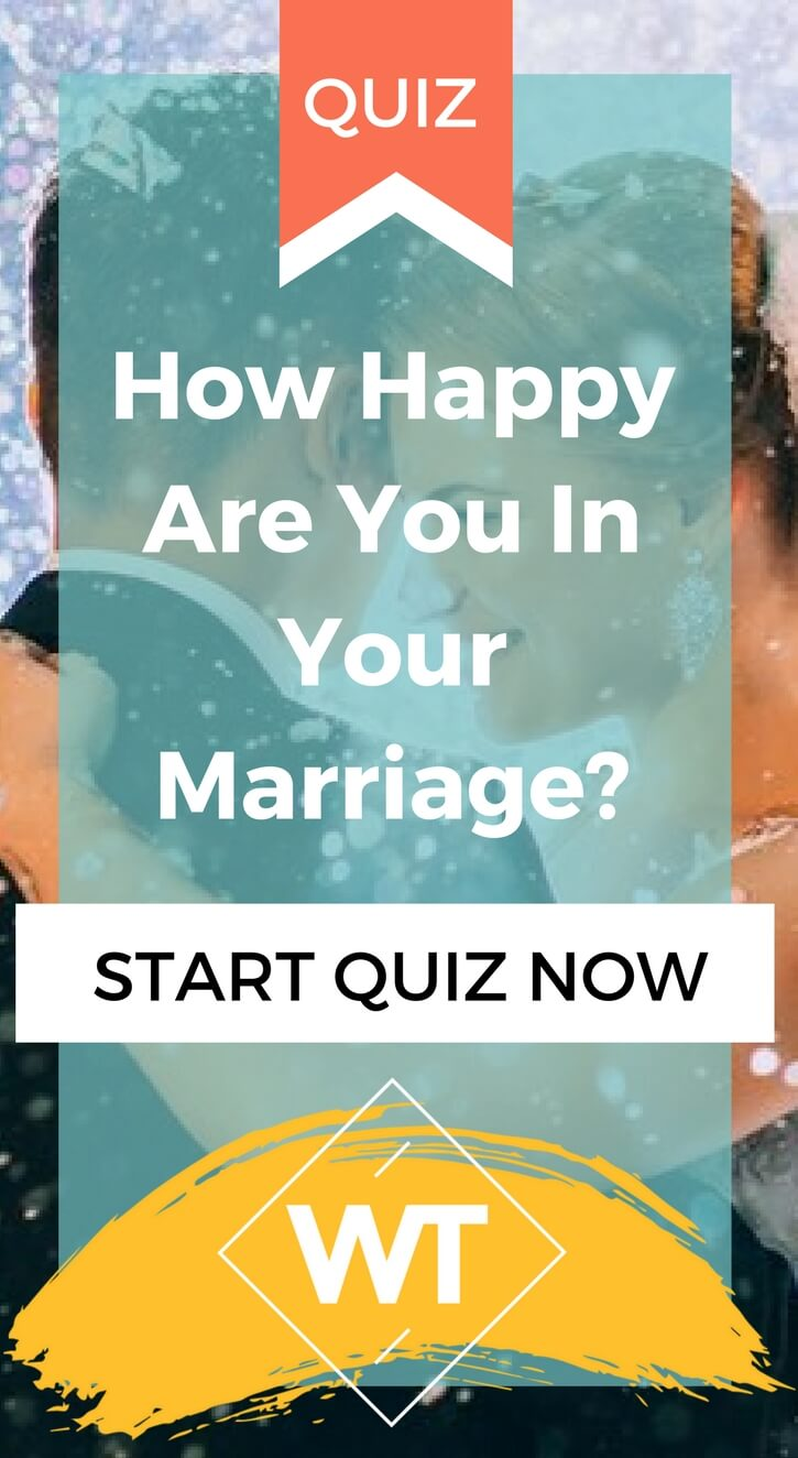 How Happy Are You In Your Marriage?