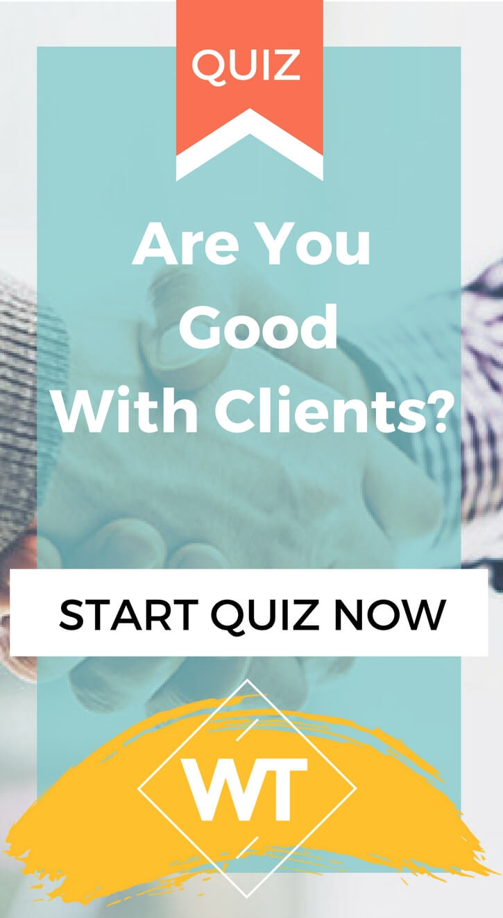 Are You Good With Clients?