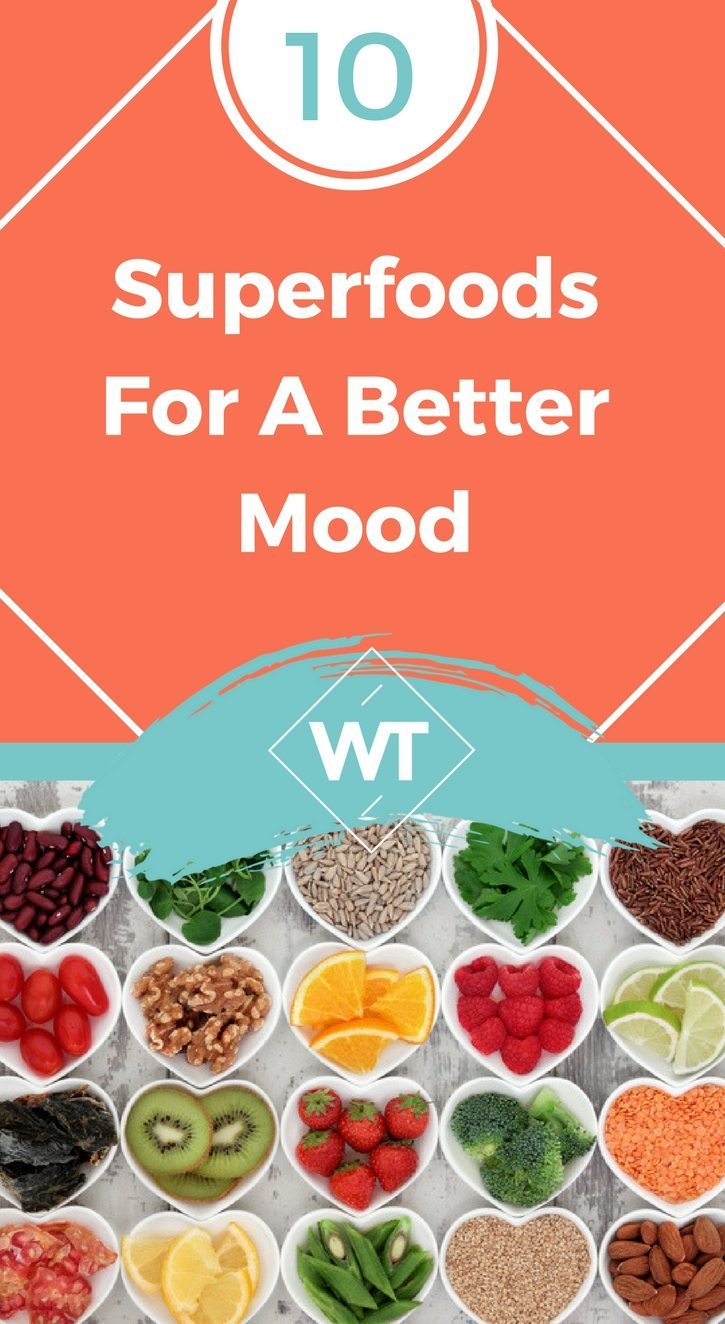 10 Superfoods For A Better Mood