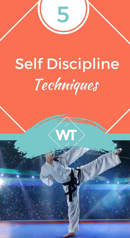 5 Self Discipline Techniques