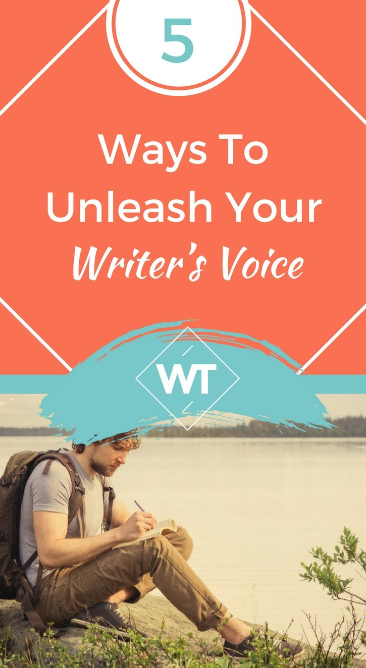 5 Ways to Unleash Your Writer's Voice