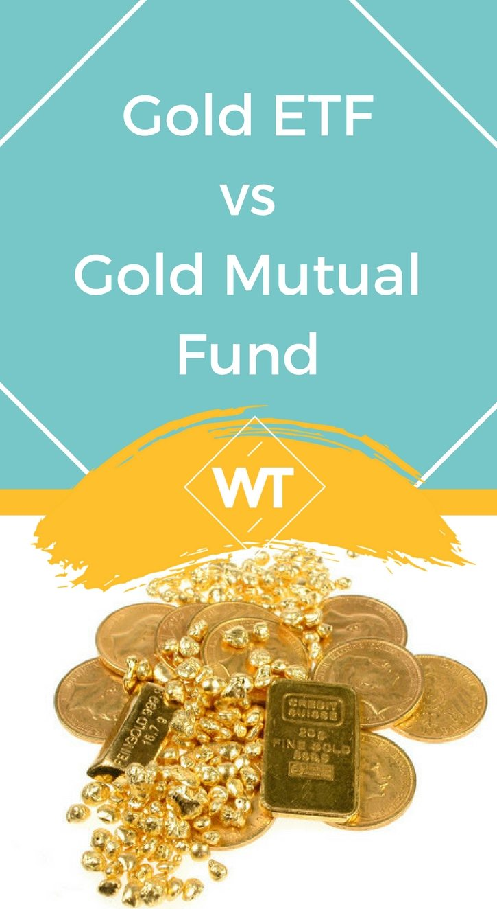 Gold ETF vs Gold Mutual Fund