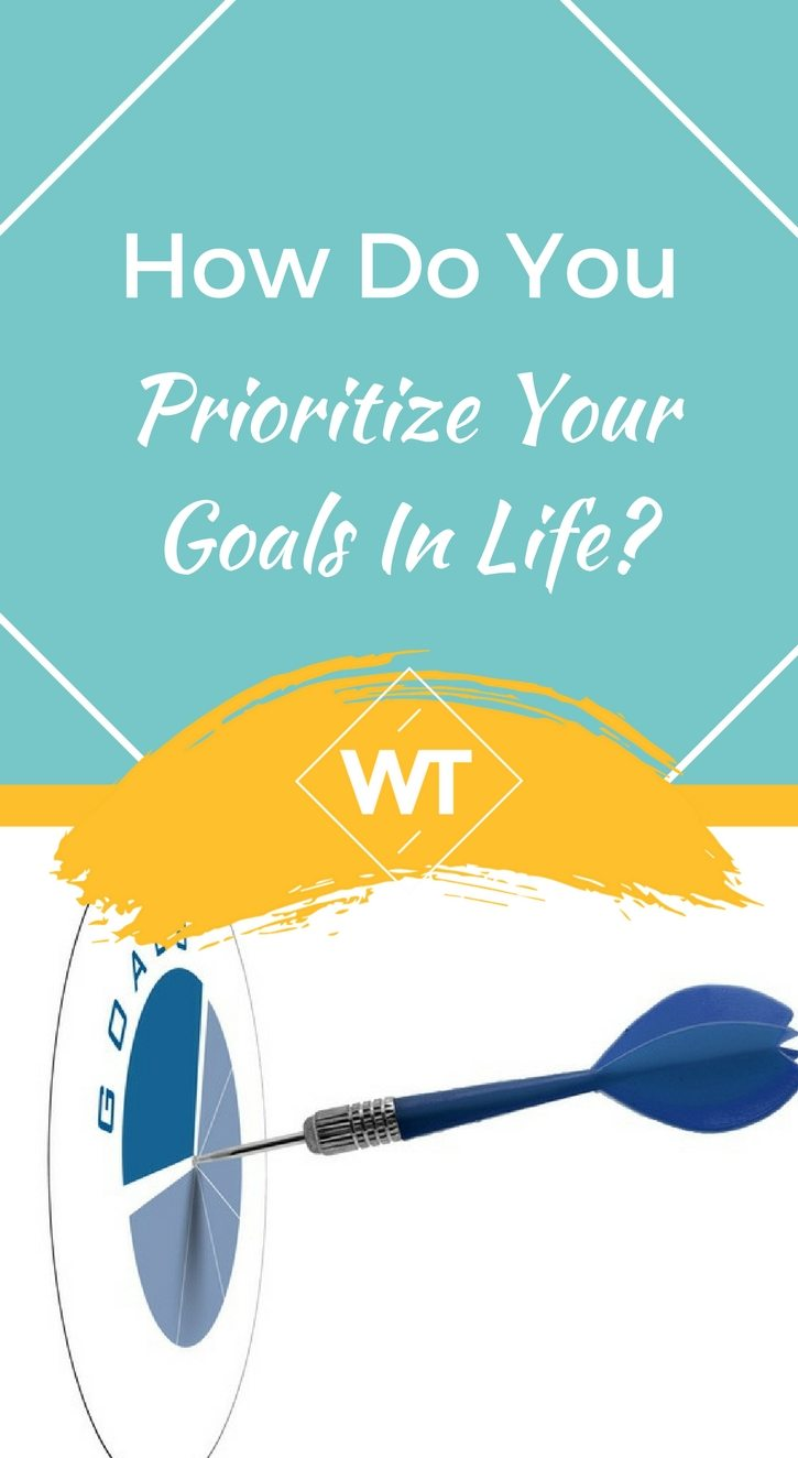 How do You Prioritize Your Goals in Life?
