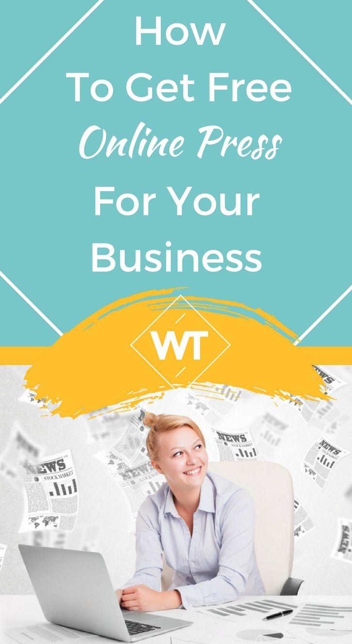 How To Get Free Online Press For Your Business