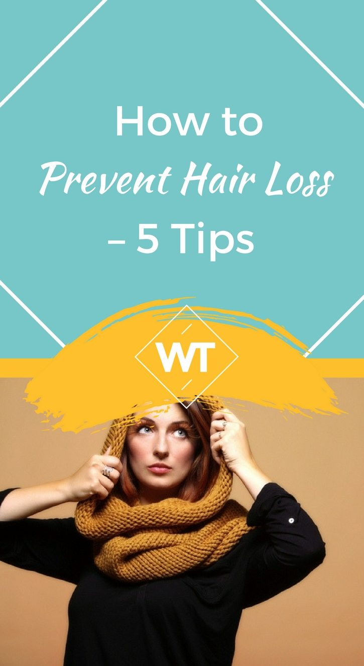 How to Prevent Hair Loss – 5  Tips