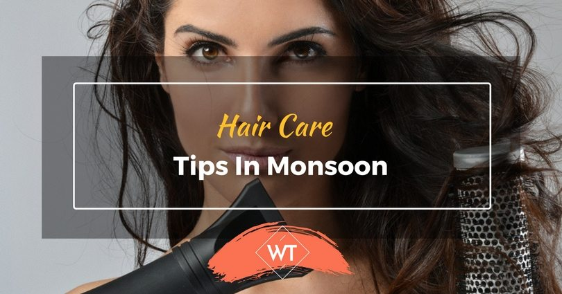 Hair Care Tips in Monsoon