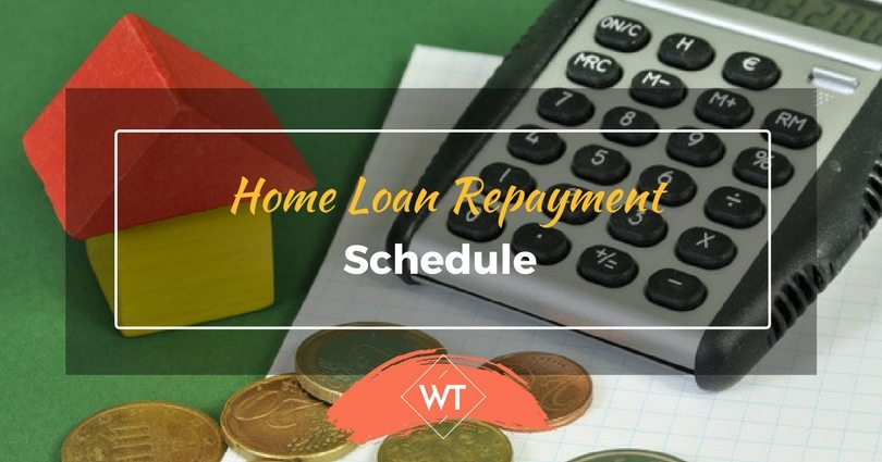 Home Loan Repayment Schedule