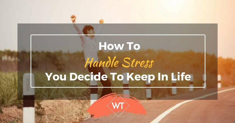 How To Handle Stress You Decide To Keep In Life