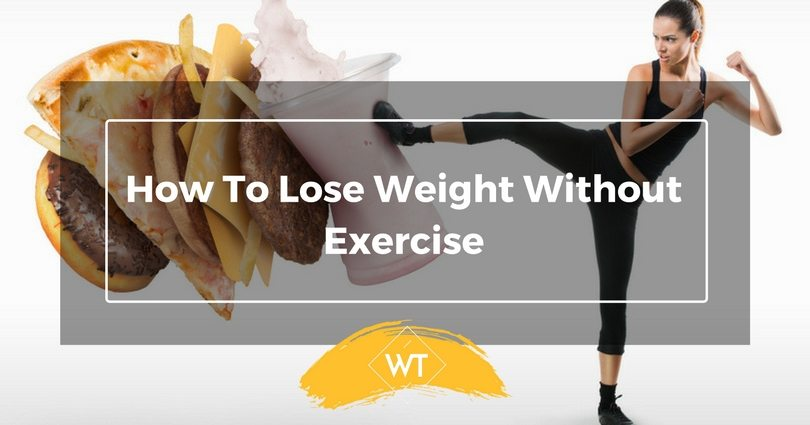 How To Lose Weight Without Exercise