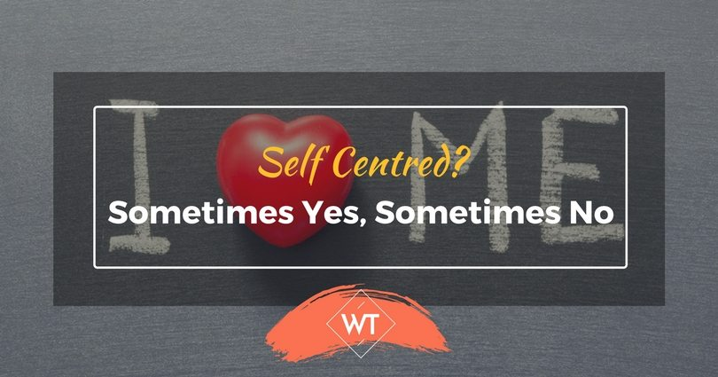 Self-Centered? Sometimes Yes, Sometimes No