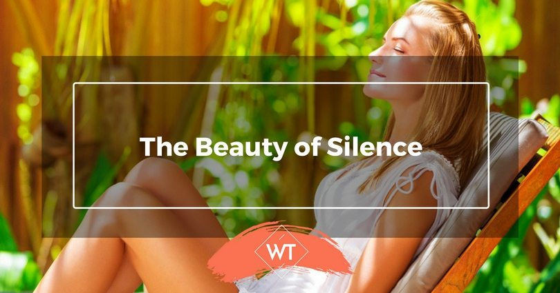 The Beauty of Silence