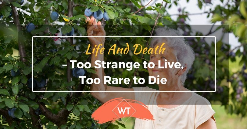 Life and Death – Too Strange to Live, Too Rare to Die