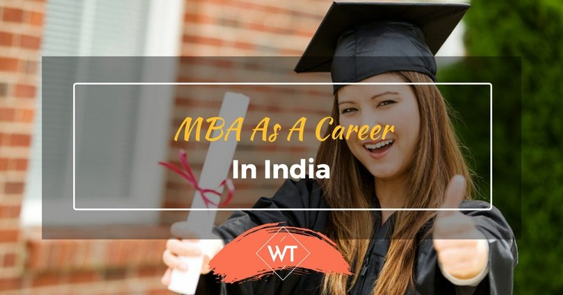 MBA as a Career in India