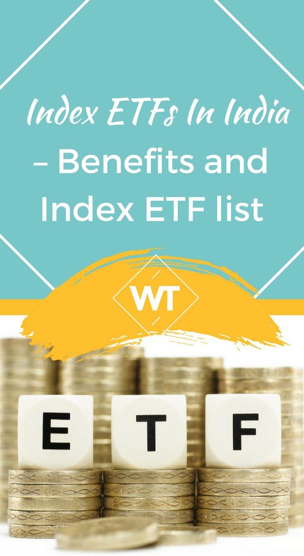 Index ETFs in India – Benefits and Index ETF list
