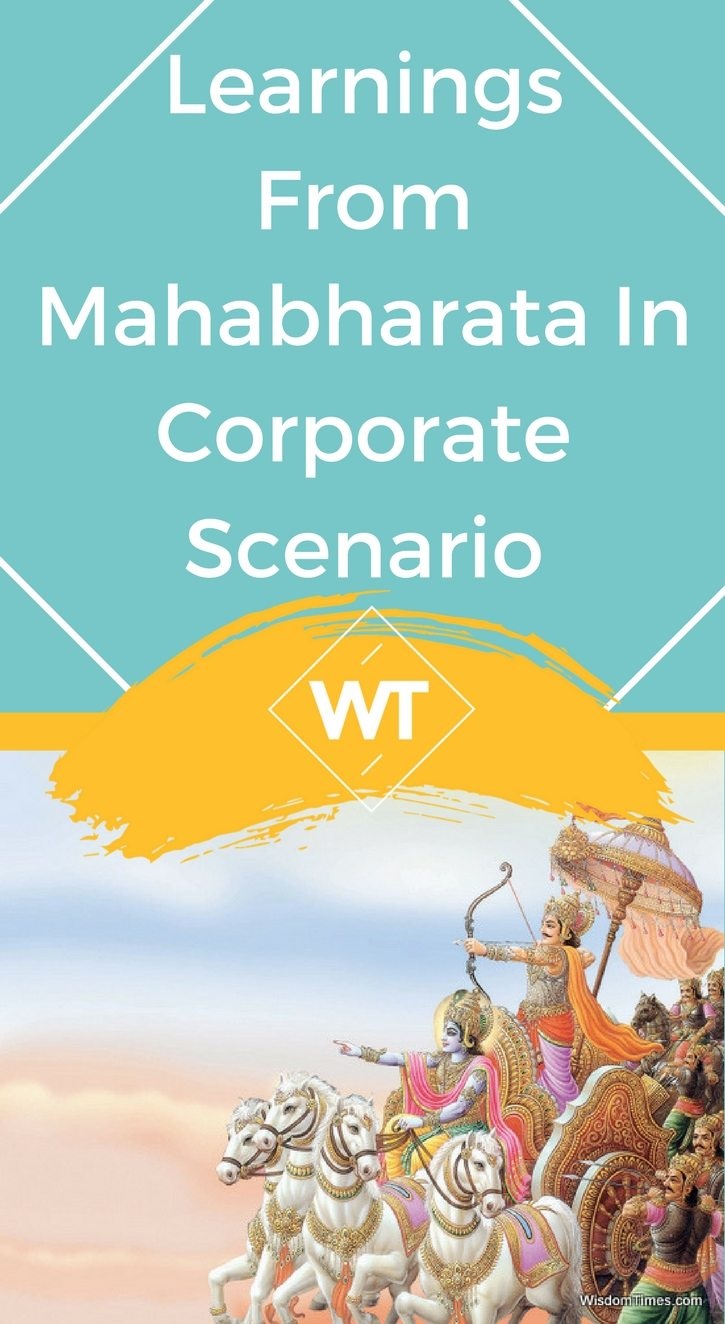Learnings from Mahabharata in Corporate Scenario