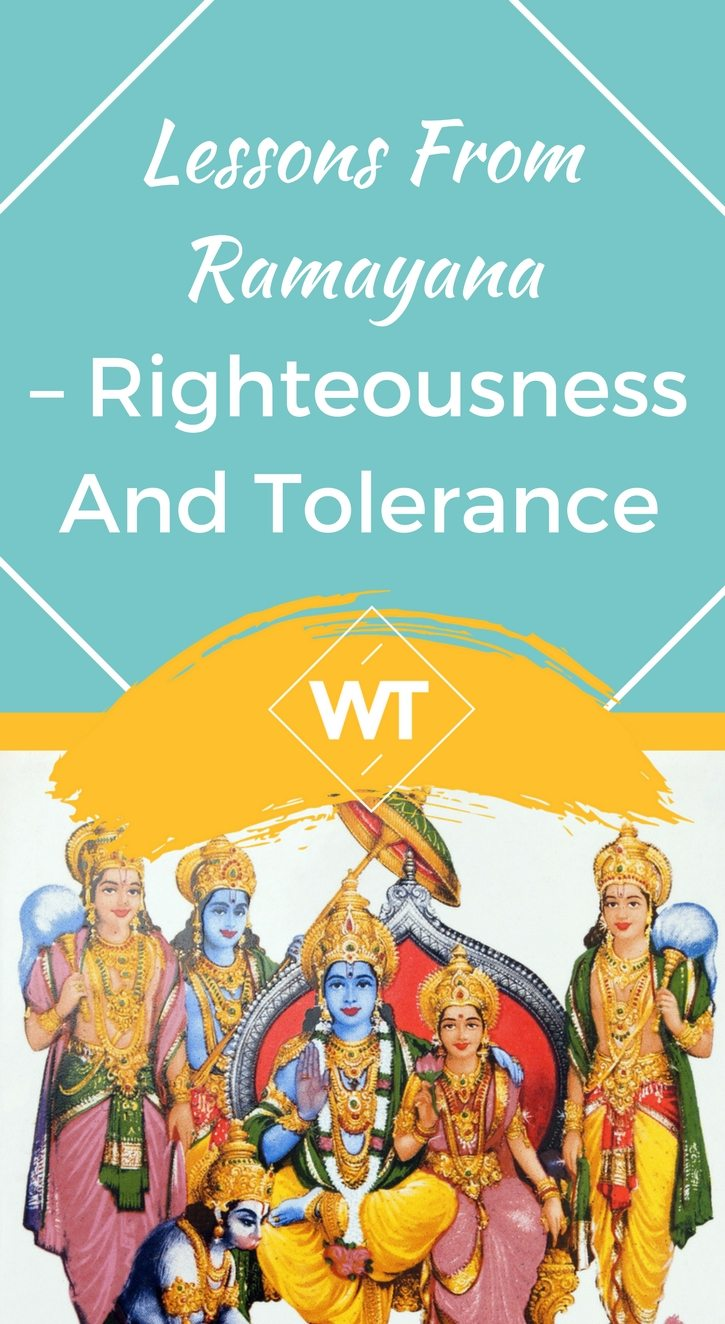 Lessons from Ramayana – Righteousness and Tolerance