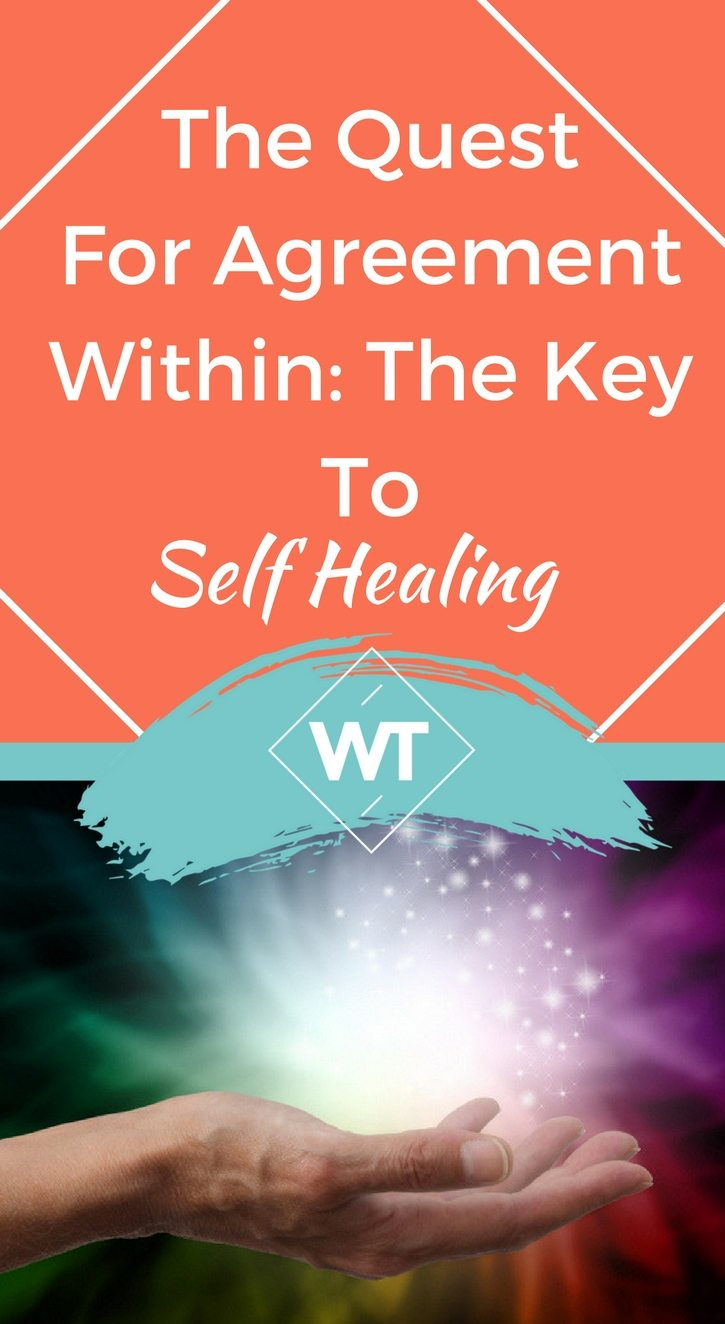 The Quest For Agreement Within: The Key To Self Healing