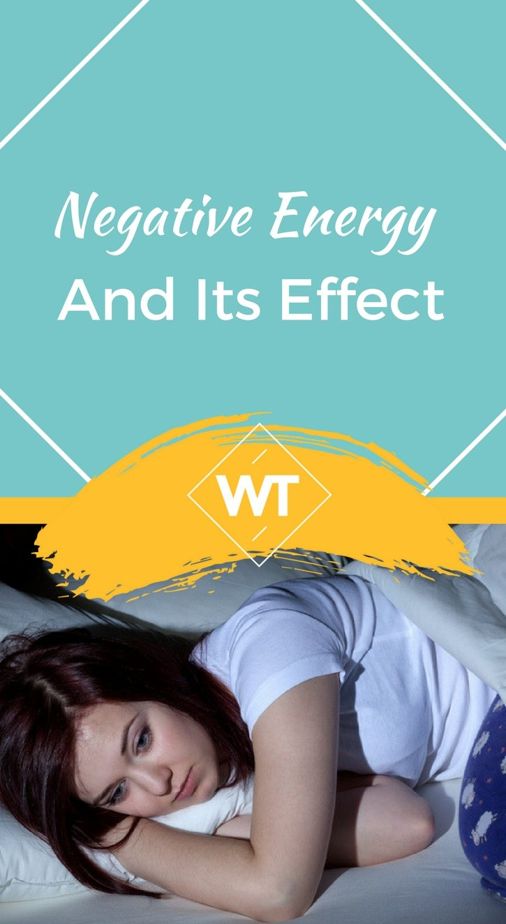 Negative Energy and its Effect