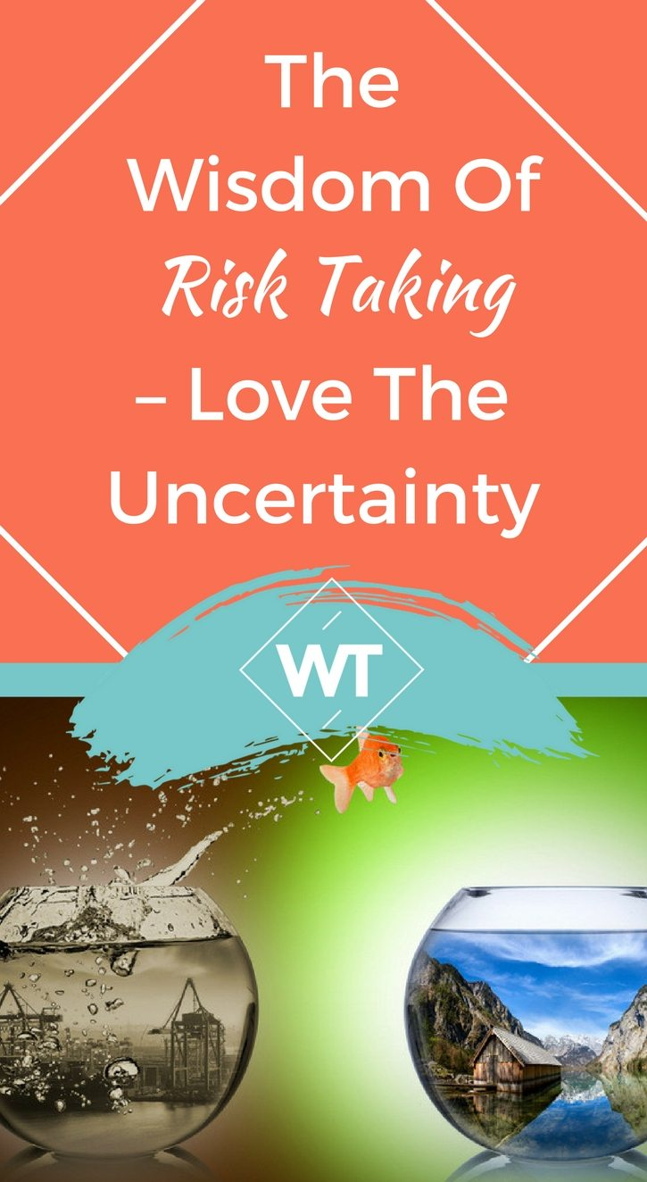 The Wisdom of Risk Taking – Love The Uncertainty