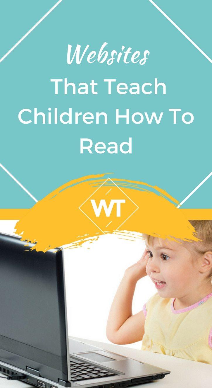 Websites that teach Children how to Read