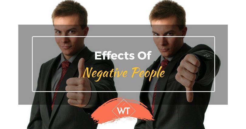 Effects of Negative People