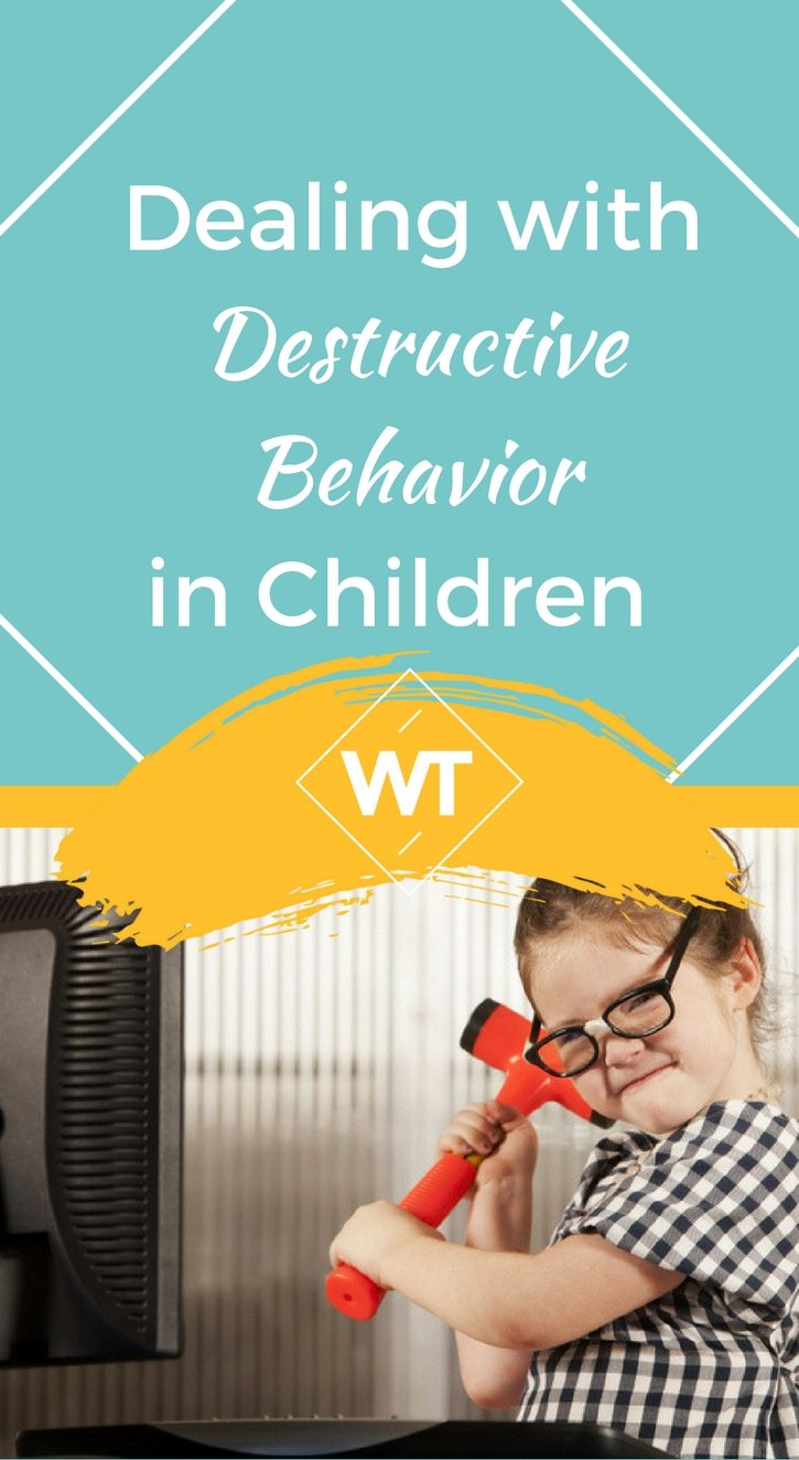 Dealing with Destructive Behavior in Children