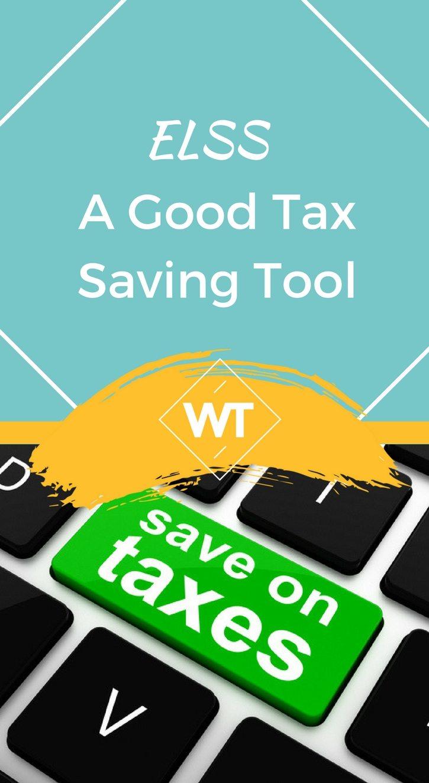 ELSS- A Good Tax Saving Tool