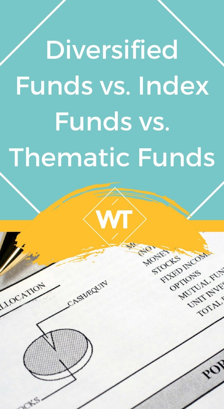 Diversified Funds vs. Index Funds vs. Thematic Funds