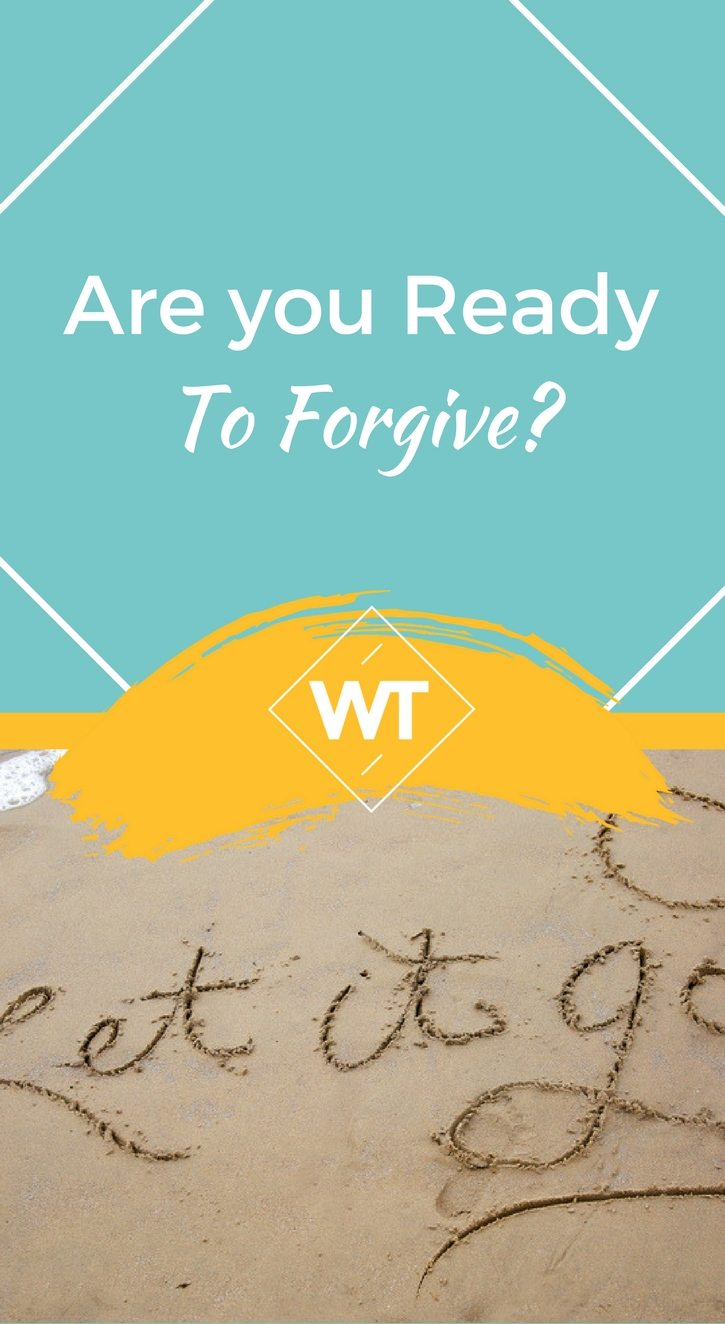 Are you Ready to Forgive?